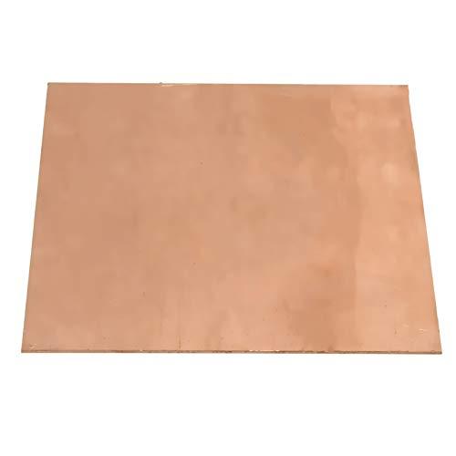 Xuulan Xianglaa-Placa de Metal pequeña 99.9% Puro Cobre CU Metal Guillotine Corte...