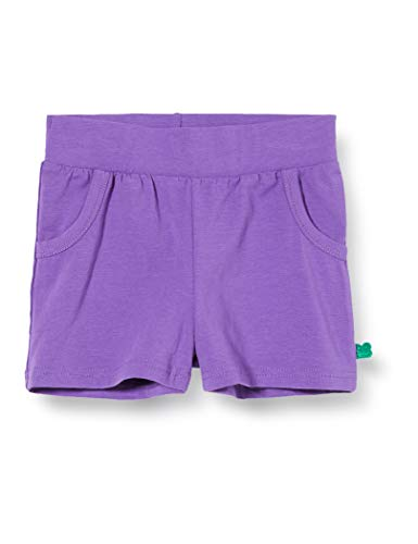 Fred's World by Green Cotton Baby-Mädchen Alfa Girl Shorts, Violett (Purple 018363301), (Herstellergröße: 98)