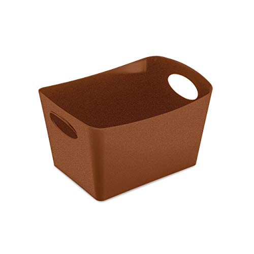 Koziol Aufbewahrungsbox Boxxx S, Box, Kiste, Korb, Aufbewahrung, Thermoplastischer Kunststoff, Organic Rusty Steel, 1 L, 5745674