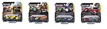 Micro Machines Starter Pack Police Chase - Includes 3 Vehicles Police & Race Cars Chance of Rare - Toy Car Collection