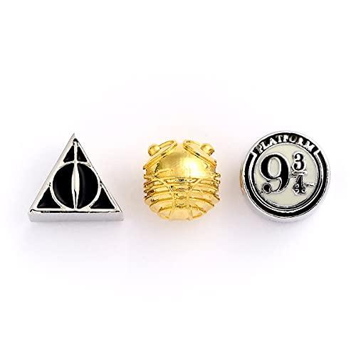Juego de abalorios oficial de Harry Potter de The Carat Shop