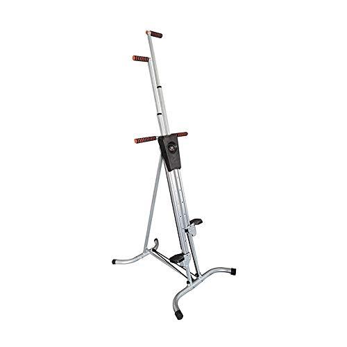 Vertikale Klettern Maschine Cardio-Training Home Berg Maschine Start Stepper Ideal for hohe Intensität Intervall-Training Fitness Trainingsgeräte Stepper ( Color : Silver , Size : 135x18.5x22cm )