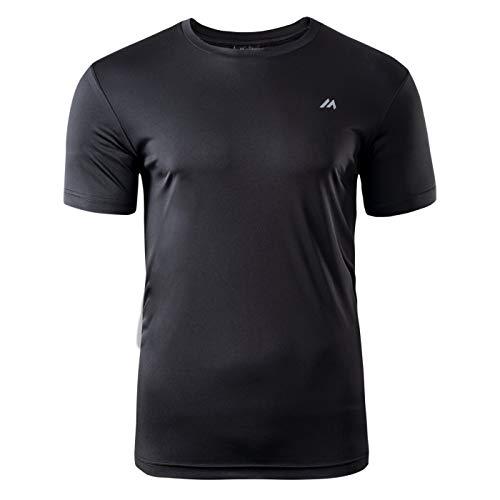 martes Herren BISIC Funktions T-Shirt, Black, XL