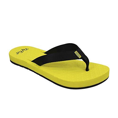 Sandália Fly Feet Feminina, Ortho Pauher, Amarelo, 37/38
