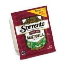 Sorrento Whole Milk Mozzarella Cheese, 5 Pound -- 8 per case.