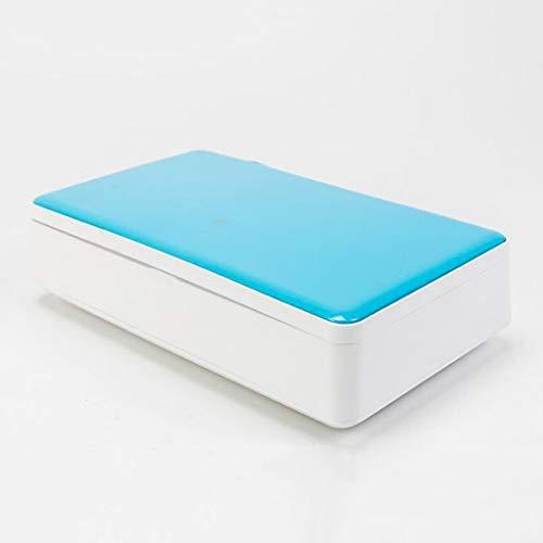 Sterilisator,Sterilizer UV-Handy Sanitizer, bewegliche drahtlose UV-Clean Lade Zahnbürste Desinfektion Box 99% Bakterien Desinfektion Aroma Funktion Sterilisator Kopfhörer- / Schmuck/Uhr/Handy