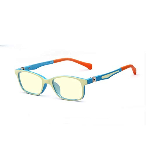 GSAGJyec Kinderbrillen Anti-Blau-Licht-Gläser Röntgenschutzbrillen Kinder Flacher Spiegel