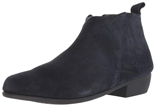 Aerosoles Women's Step IT UP Ankle Boot, Navy Suede, 11 M US