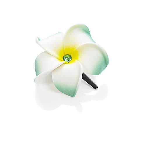 Dolly Martin - Frangipani Diamond Classic grün-weiß-gelb