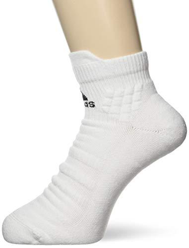 adidas Ask Ankle MC Calcetines, Unisex Adulto, White/Black/White, M