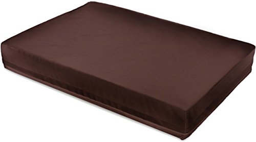 DoggyBed Orthopedisch hondenwaterbed Nepttun Spa No1, bruin, de feel-good oase voor de hond, 120x80x17