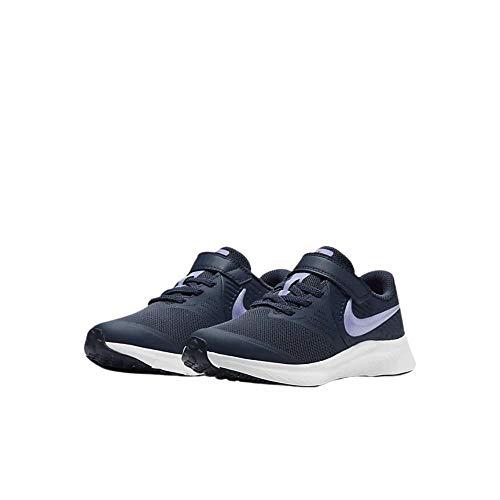 Nike Star Runner 2 (PSV), Zapatillas para Correr Unisex niños, Thunder Blue Purple Pulse Fireberry White, 28 EU