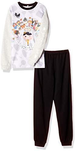 [バンダイ] パジャマセット おしりたんてい 光るダンボールニットパジャマ 531 2528203 ボーイズ 杢グレー 日本 120cm (日本サイズ120 相当)