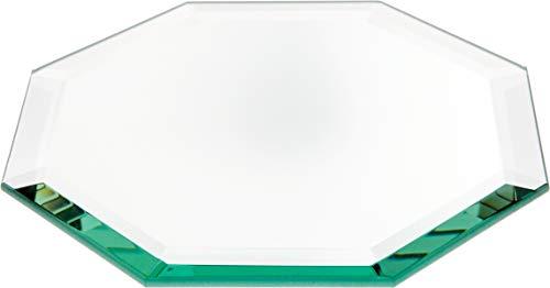 Plymor Octagon 5mm Beveled Glass Mirror, 6 inch x 6 inch