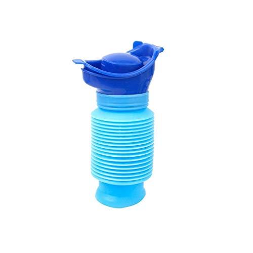 YZLSM Männer Kinder Flexible Hermetic Mietklo Jungen Resuable Hygienic Reisen Urinale Kunststoff blau