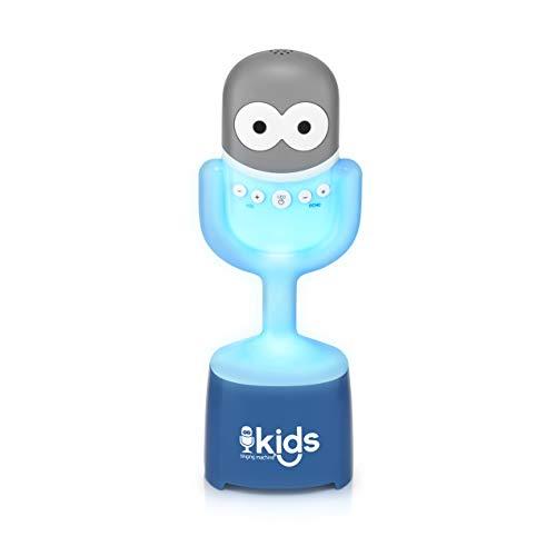 Singing Machine Kids Sm Kids Smk445 Mic Guy Bt Spkr Wrls Mic Glo Lght, White, 4+