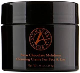 Signature Club A Swiss Chocolate Meltdown Cleansing Creme for Face & Eyes (Huge 9 oz.)