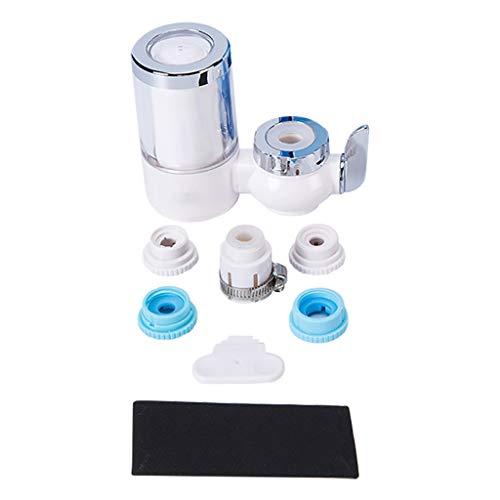 UKtrade Purificador de agua para grifo, purificador de agua con material ultra adsortivo, carcasa de plástico ABS premium, filtros de agua para grifos, se adapta a grifos estándar