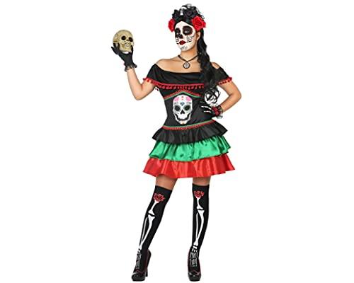 Atosa Disfraz Esqueleto Mexicano Mujer...