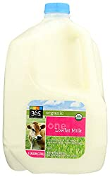 365 Everyday Value, Organic 1% Milk, 128 oz (Packaging May Vary)