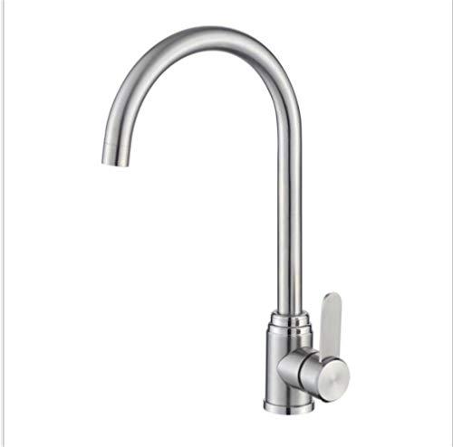 Waschtischarmaturen Küchenarmaturen Waschraumarmaturen 304 Edelstahl Küchenarmatur Waschbecken Waschbecken Kalt Und Warmwasser Mischventil Wasser Heizung