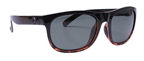 Unsinkable Polarized Unisex Nomad floating polarized sunglasses, Black Tort Fade