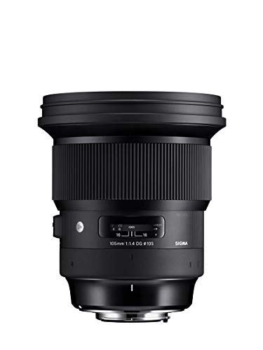 Sigma 105mm f/1.4 DG HSM Art Lens For Nikon F (259955 )