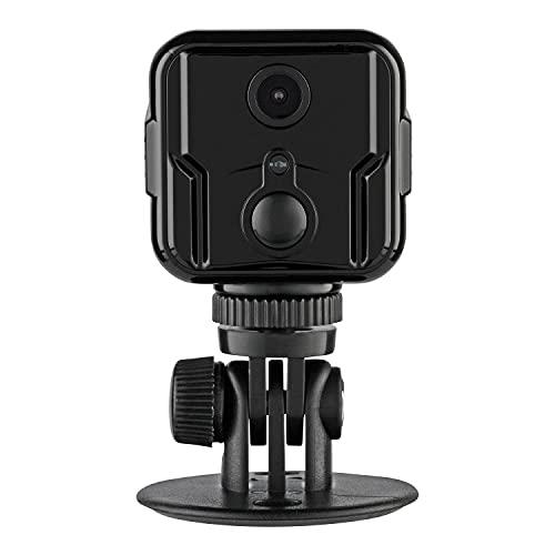 LUVISION 4G / LTE Mini Kamera Kabellose Überwachungskamera mit PIR Bewegungserkennung Pocket Kamera für Mobilfunk SIM Karte Auto KFZ PKW Parküberwachung ohne WLAN versteckte Nachtsicht Cloud