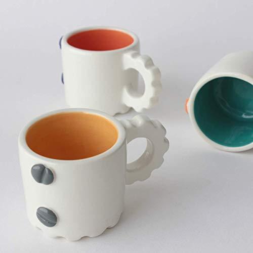 Tazas de café Hecho y pintado a mano, más colores disponibles, hecho