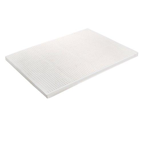 RXRENXIA Materasso Lenitivo in Lattice A 7 Zone di Lusso90x200 × 5/7.5/10 Cm | Design Ergonomico | Respirare La Sostanza Sicura | Temperatura del Sonno Equilibrata |