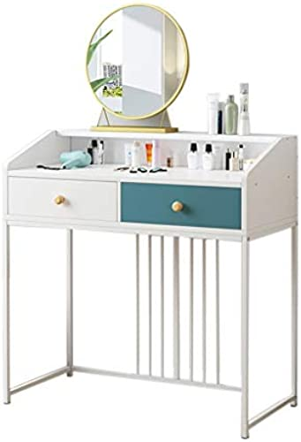 CJX-Dressing Tables Schlafzimmer-Schminktisch, Multifunktionsschreibtisch Computertisch Schreibtisch Esstisch Schminktische Shop-Schminktisch (Farbe   C)