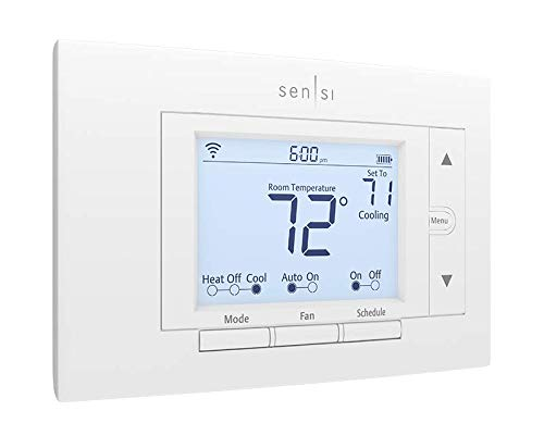 Emerson Sensi Wi-Fi Smart Thermostat for Smart Home, DIY, Works...