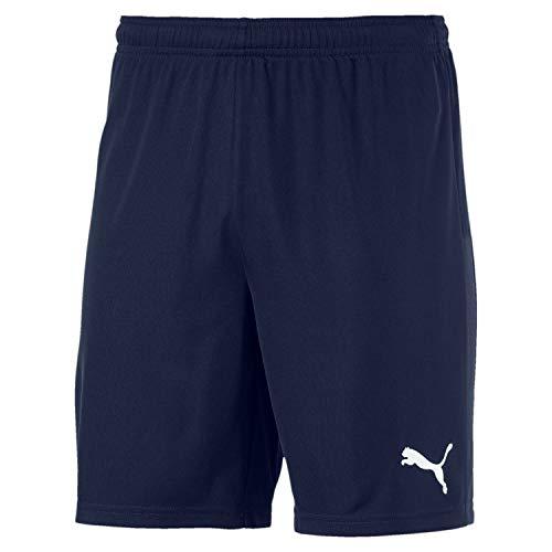 PUMA Herren teamGOAL 23 Knit Shorts, Peacoat, XL