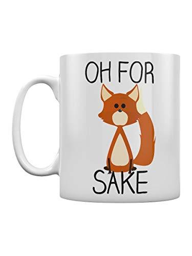 Kaimebien Oh For Fox Sake White Mug