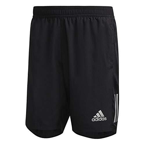 adidas Own The Run Shorts Pantalones Cortos para Hombre, Negro, Extra-Large