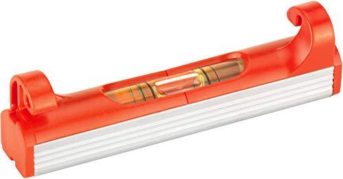 Connex Schnur-Wasserwaage 70 mm - 1 Libelle - 2 % Gefälle ablesbar - Leichte Bauweise & Kompaktes Design - Zum Einhängen in Richtschnüre / Schnurlinien-Wasserwaage / Schnurwaage / COXT743000