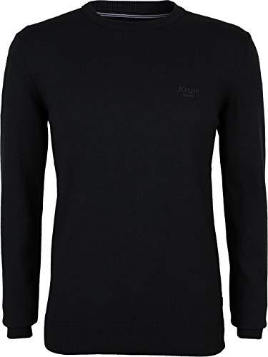 Joop! Herren Pullover Baumwolle Sweater Einfarbig Schwarz XL