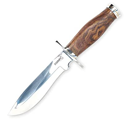 Perkin Fixed Blade Hunting Knife with Sheath Bowie Knife 619