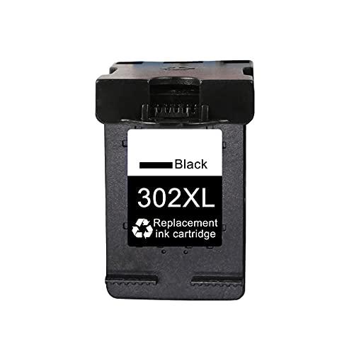 AXAX Toner Compatible para HP 302 XL Reemplazo de Cartucho de tóner para HP DeskJet 1110 1115 2130 2135 3630 3830 Impresora, Suministros de Oficina Fácil de Instalar Dura Black