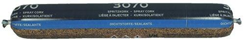 3x Bostik Spritzkork 3070 für Parkett im Schlauch 3x a. 500 ml