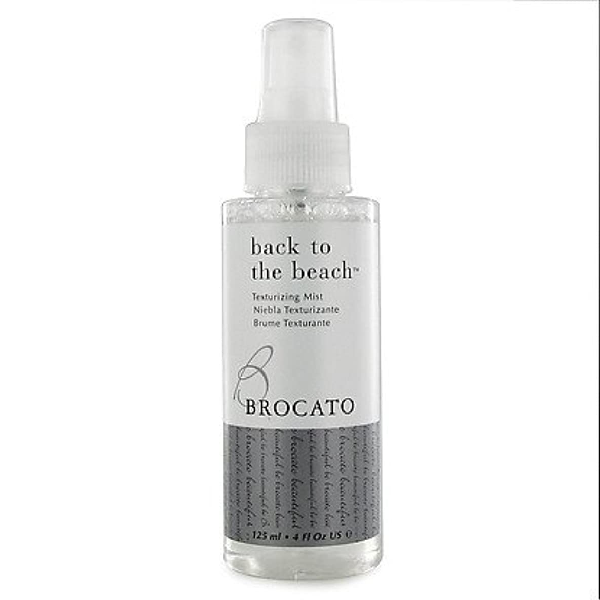 自発的キロメートル畝間Brocato 戻るBeautopia髪でビーチテクスチャーミスト:テクスチャ&ボリュームヘアスタイリングは、女性のためのスプレー - 4オンス 各