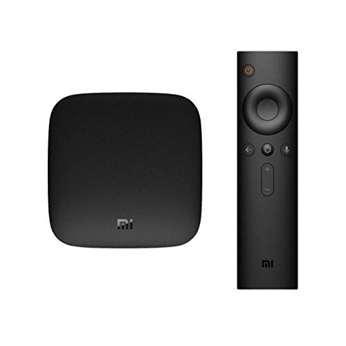 Smart TV BOX Original Xiaomi Mi Box - 4K Ultra HDR TV Streaming Media Player con mando a distancia por voz