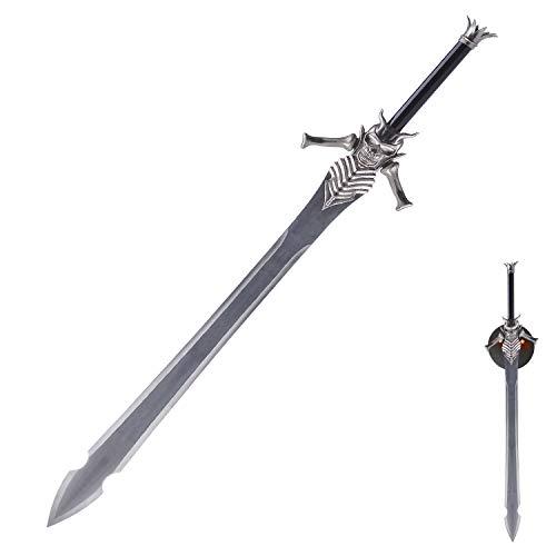 Sword Fort Handmade Katana Anime Cosplay Sword, Carbon Steel, Devil May Cry - Dante's Rebellion