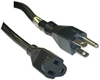 C/&E Power Extension Cord 15 Amp 14 AWG Black SJT 3 Conductor NEMA 5-15P to NEMA 5-15R 15 Feet CNE652139