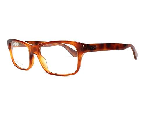 Gucci Montura de gafas - para hombre Marrón marmor stil braun - kristall braun 55