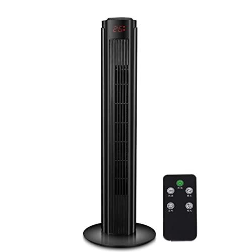 aire acondicionado, Refrigerador de vaporización 32 'Ventilador de torre oscilante, ventilador de enfriamiento portátil silencioso con control remoto, ajustes de 3 velocidades, función de temporizador