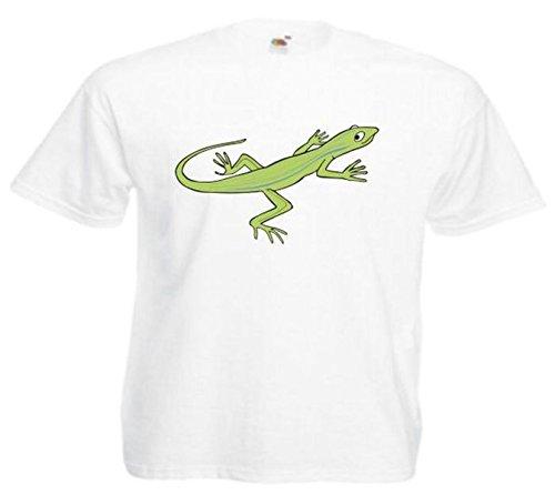 Herren T-Shirt Motiv 10581 Farbe Weiß Größe 2XL