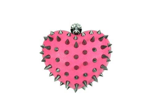 Anarchy Herz Tasche Damen Cupcake Kult Alternative Emo Punk Goth Osiris Fashion Gr. One size, rose