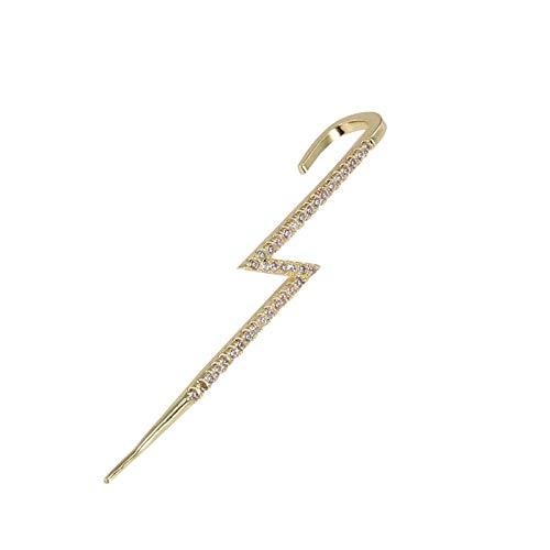 lefeindgdi Pendientes de gancho para la oreja, con diseño geométrico, estilo urbano