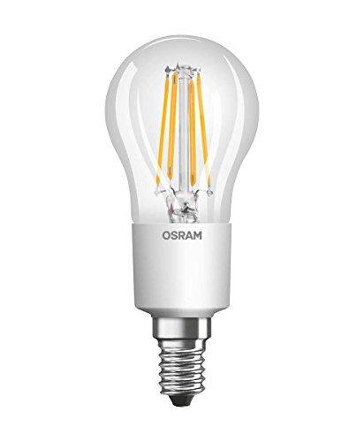 Osram LED Retrofit Classic P Lampe, Sockel: E14, Warm White, 2700 K, 6 W, Ersatz für 60-W-Glühbirne